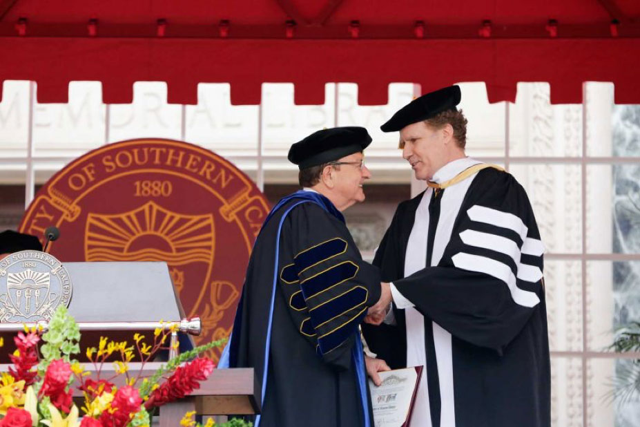 南加州大学2017毕业典礼
