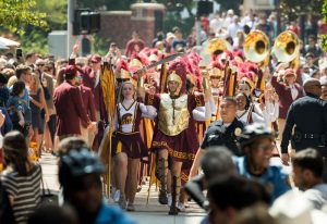 USC 大学村开幕庆典