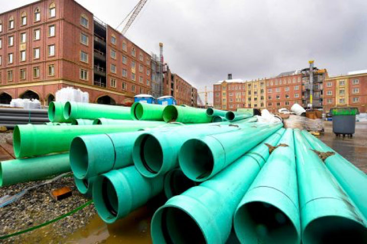 USC 大学村暗沟排水系统