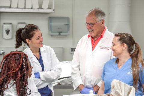 特洛伊人对使现实解剖学课程成为可能的遗体捐赠者们表示致敬-南加州大学中文官网