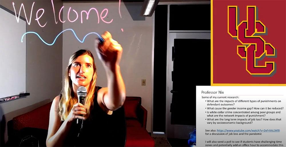 南加州大学教授的DIY在线教学技巧吸粉无数-南加州大学中文官网