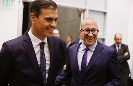 历史性时刻:西班牙首相在美国进行国事访问期间,到访南加州大学并发表振奋人心的演讲-南加州大学