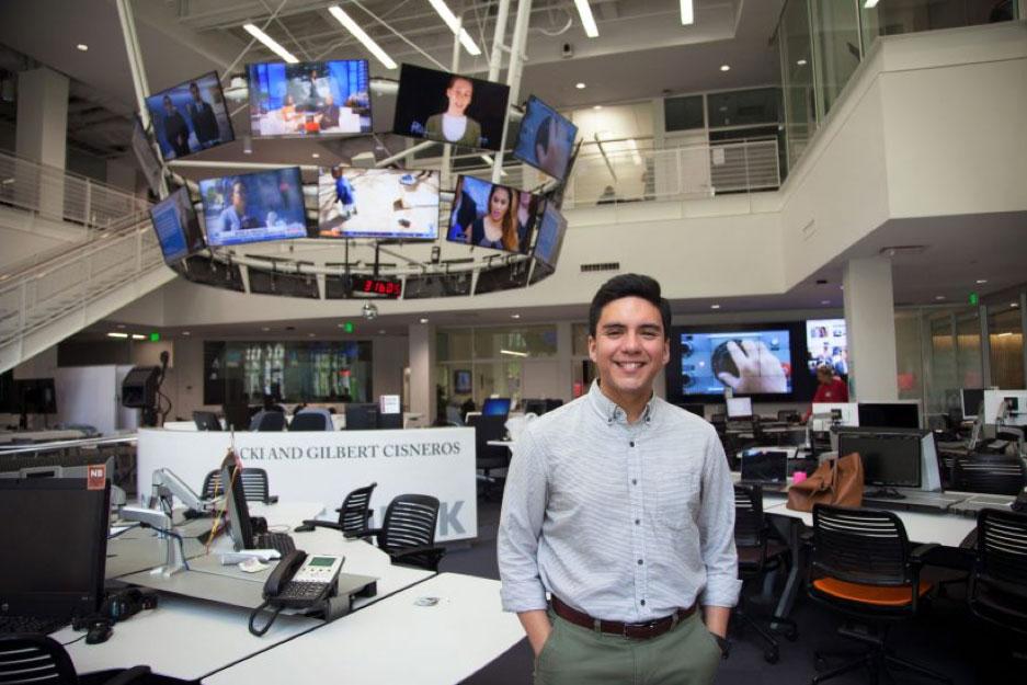 数字媒体记者在南加州大学Annenberg新闻与传播学院获得种种机遇