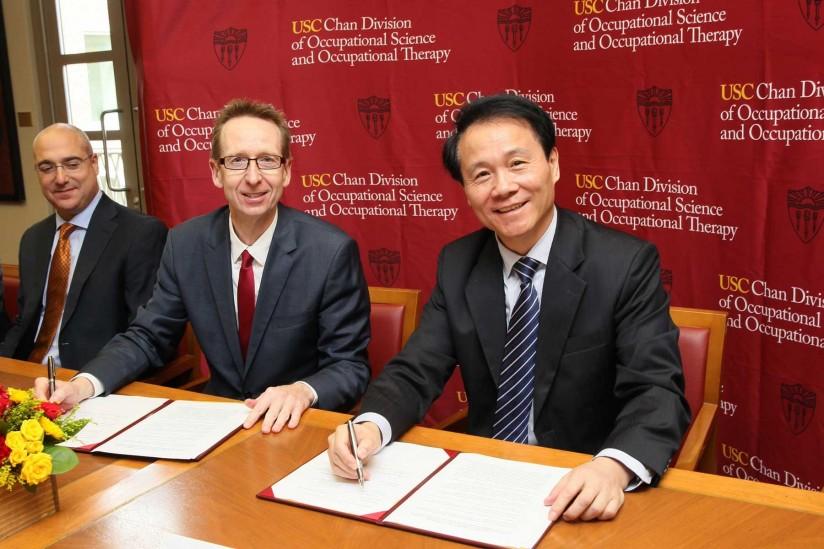 南加州大学与北京大学开展合作