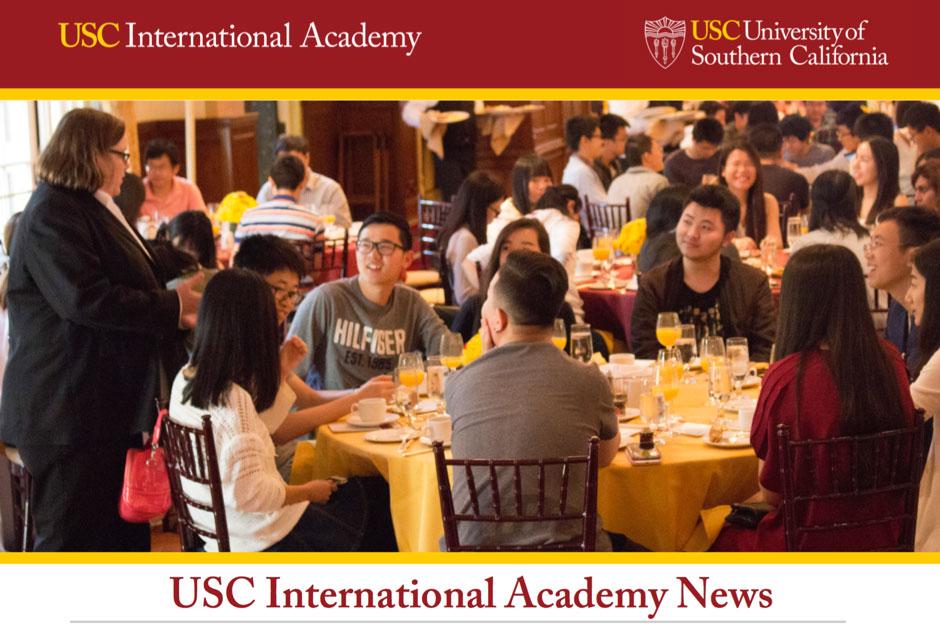 南加州大学国际学院春季简报 USC Spring Newsletter