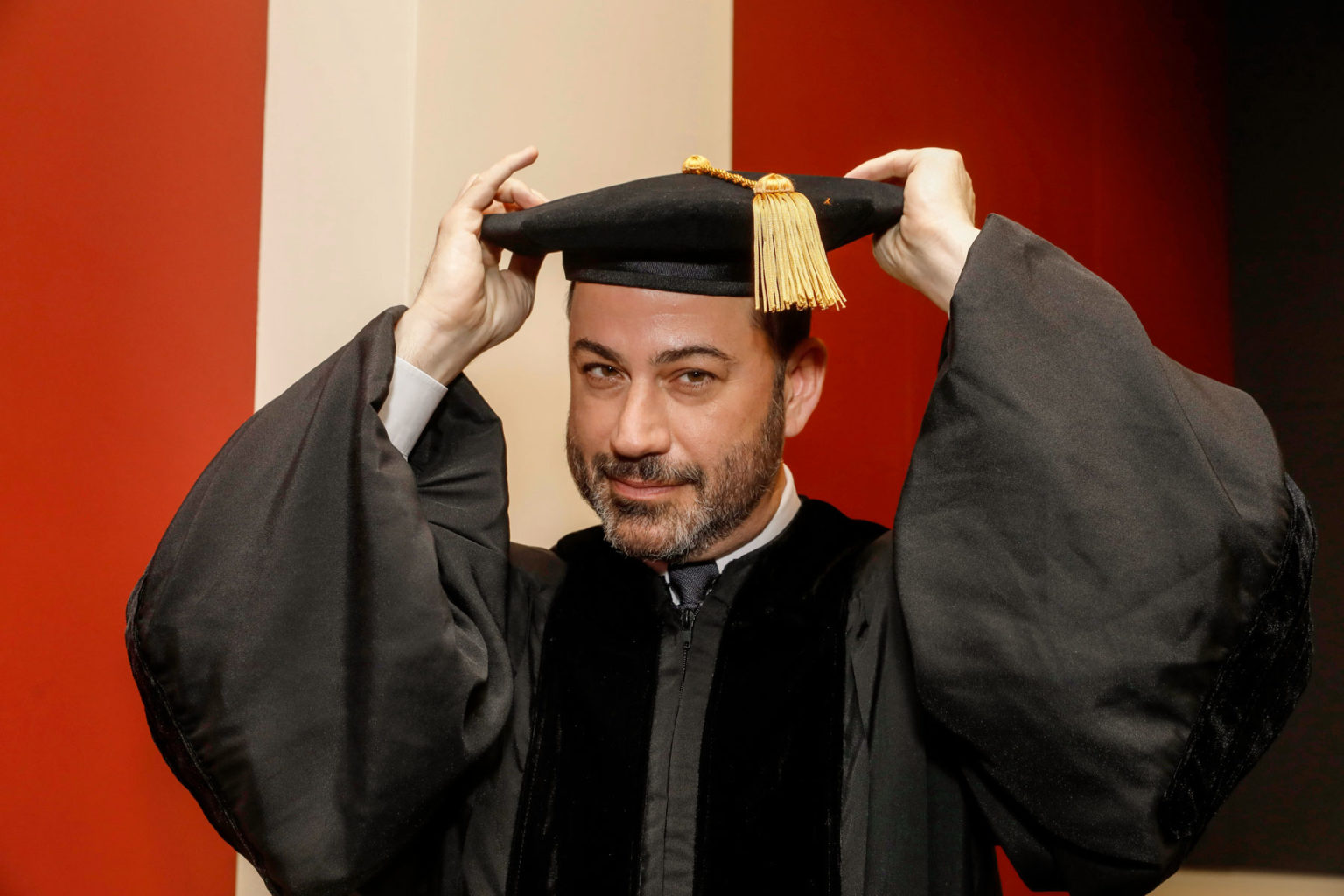 USC校园名人 Jimmy Kimmel -南加州大学中文官网